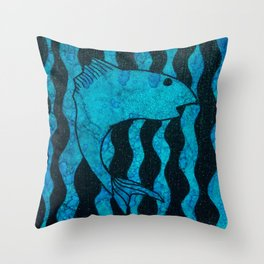 Here, Fishy Throw Pillow