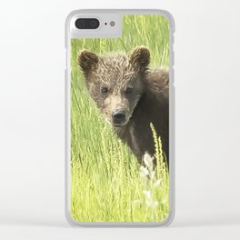 I Love Me a Teddy Bear Clear iPhone Case