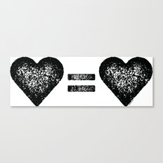 Love Equals Love Canvas Print