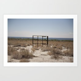 The Salton Sea Art Print