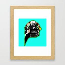 SING OR DIE! Framed Art Print