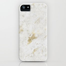 Wind Washed Marble Gold Mine iPhone Case