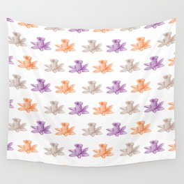 colorful flowers pattern Wall Tapestry