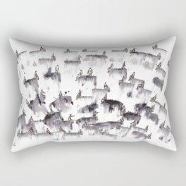 Gente  Rectangular Pillow