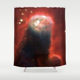Space pillar of gas Shower Curtain