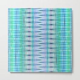 pattern blue no. 4 Metal Print
