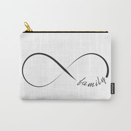 Forever family infinity symbol Carry-All Pouch
