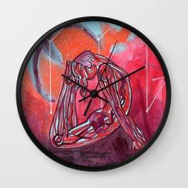 Scorpio | Yoga Art Wall Clock