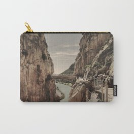 """""""The most dangerous trail in the world II"""". El Caminito del Rey  Carry-All Pouch"""