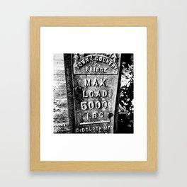 IIIV Framed Art Print