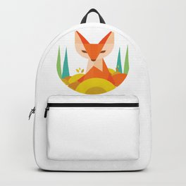 Fox drawing Backpack