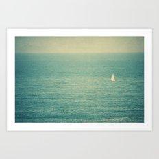 sea XIV Art Print