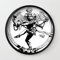Natraj Dance - Mono Wall Clock