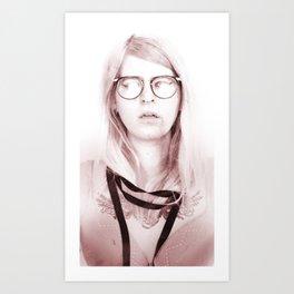 A Ruby Dagger On My Clit Art Print