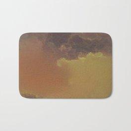Brownish Cloud Pattern Bath Mat