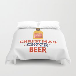 CHRISTMAS BEER Duvet Cover