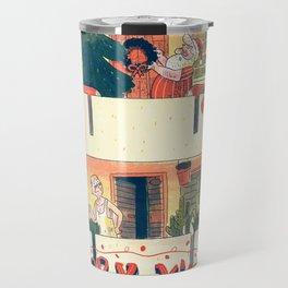 Santa's Big Move Travel Mug