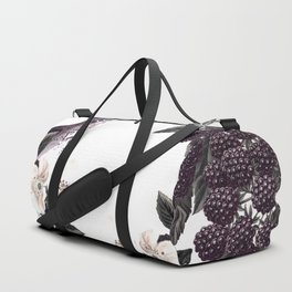 Blackberry Spring Garden - Birds Bees and Flowers Duffle Bag