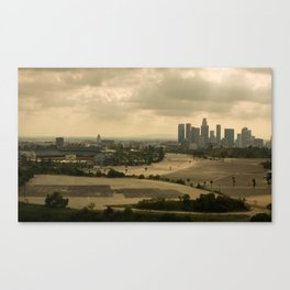 LA LOVE Canvas Print