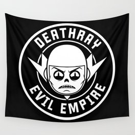 DeathRay Evil Empire Logo Wall Tapestry
