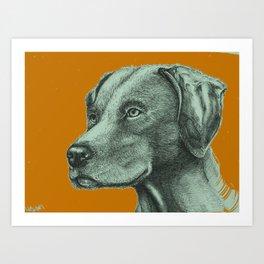 Critter Sketch Art Print