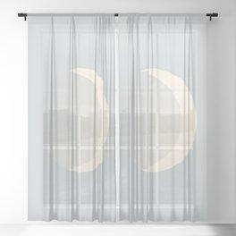 Ethereal Moon Sheer Curtain