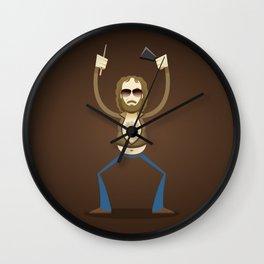 Gene Frenkel aka the cowbell guy Wall Clock