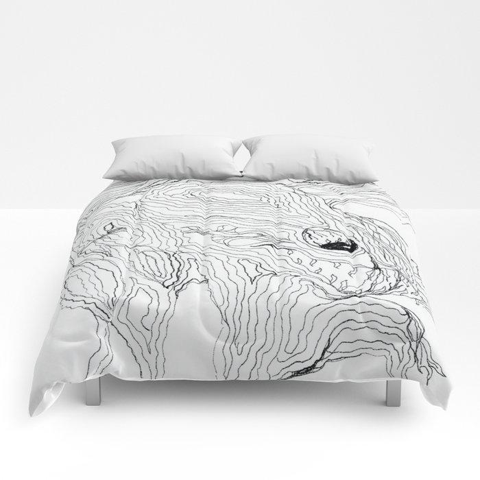 Treading Lighly Comforters