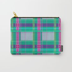 Ugh Plaid Carry-All Pouch