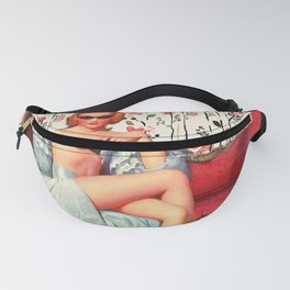 Vintage Burlesque Pin-Up Fanny Pack