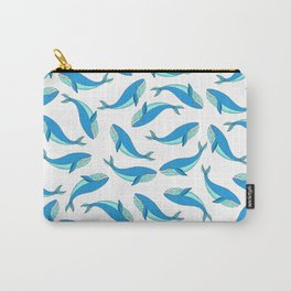 The Blue Whale Carry-All Pouch