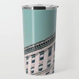 Vintage Blues Travel Mug