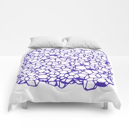 Random Foam (Smashed Blueberry) Comforters