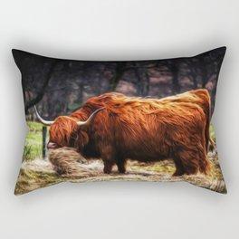 Hairy Coo Rectangular Pillow