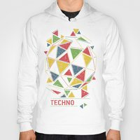 deadmau5 Hoodies featuring Techno by Sitchko Igor