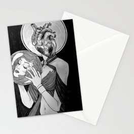 To Follow Your Heart, Abandon Your Head Stationery Cards