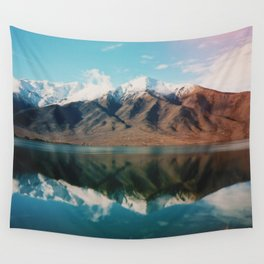 Film photo of New Zealand Glacier Landscape Wall Tapestry