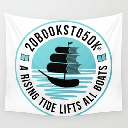 20Booksto50k(R)-Logo1 Wall Tapestry