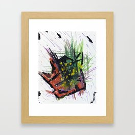 Concentrated Mass Framed Art Print