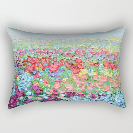 Highland Bluebonnets Rectangular Pillow