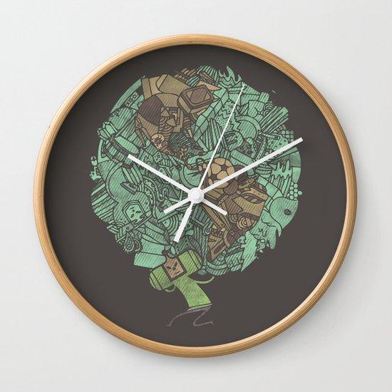 Prince Atlas Wall Clock