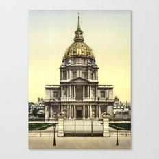 Les Invalides, Paris, France Canvas Print