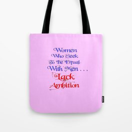Ambition Tote Bag