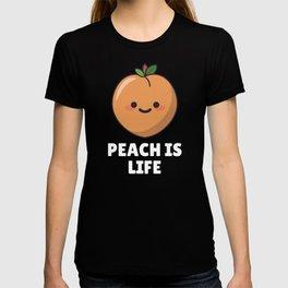 Peach Is Life T-shirt