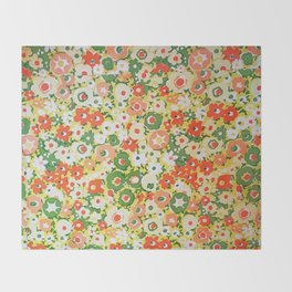 Sunset Garden Pattern No. 1 Throw Blanket