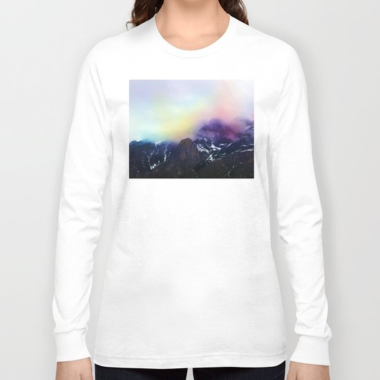 Mountain of Color Fog Long Sleeve T-shirt