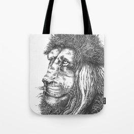 Smiling Lion Tote Bag