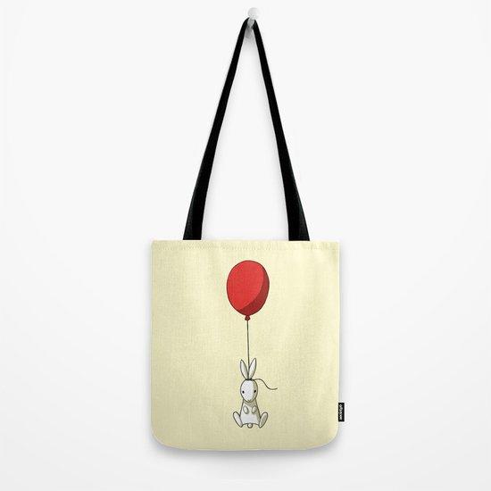 Balloon Bunny Tote Bag