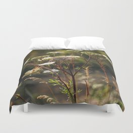 Milfoil in the sun Duvet Cover