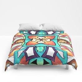 Spring Splash Comforters